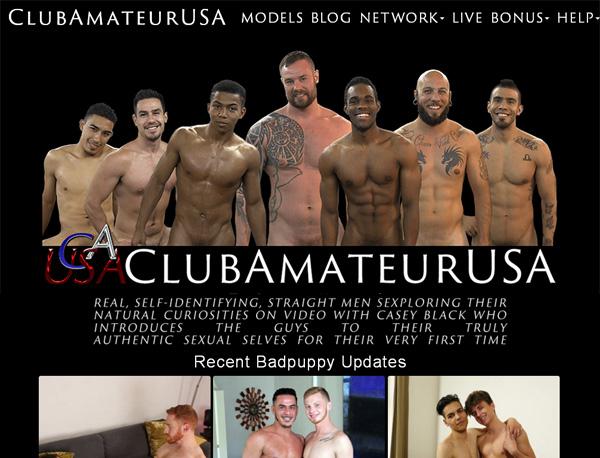 Active Clubamateurusa.com Passwords