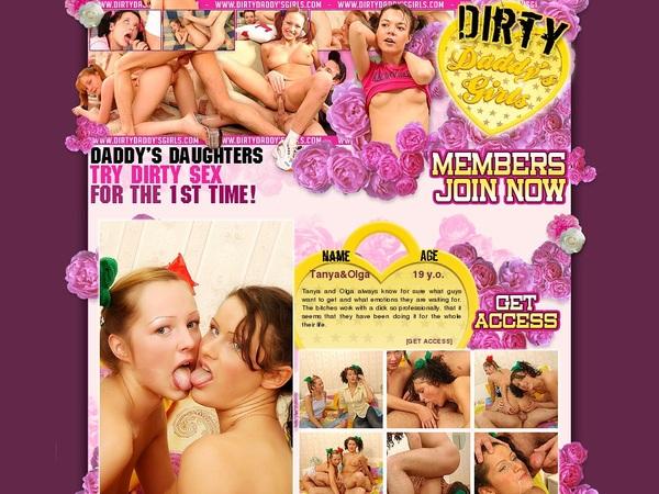 Dirtydaddysgirls.com Premium Accounts Free
