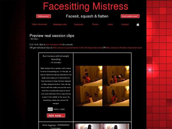 Facesitting Mistress Mobile Passwords