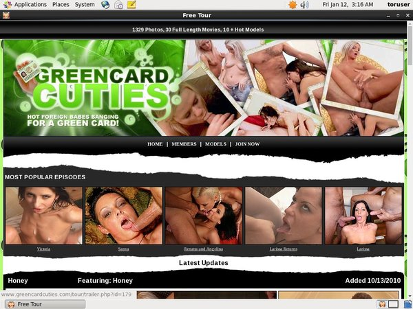 Green Card Cuties Accounts For Free
