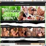 Green Card Cuties Mit Bankkarte