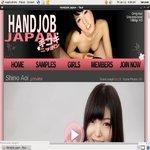 Handjob Japan User Name