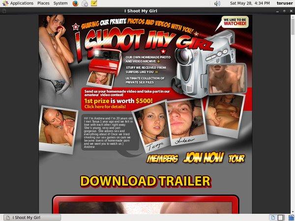 Ishootmygirl.com Kennwort
