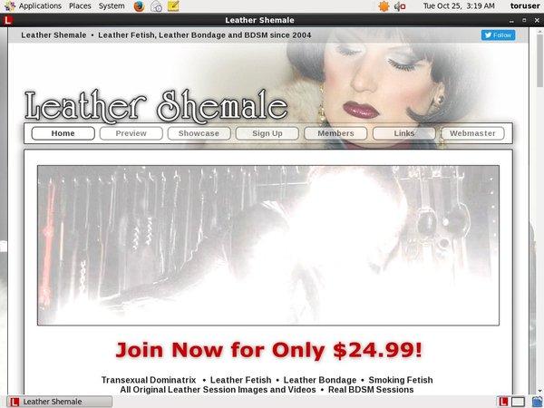 Leathershemale.com Passcode