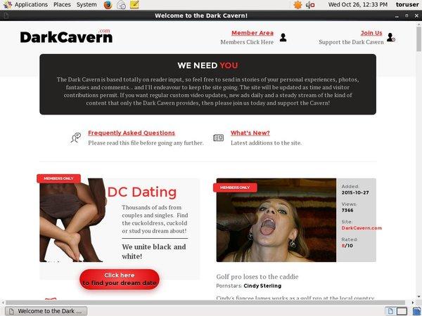 Premium Dark Cavern Account