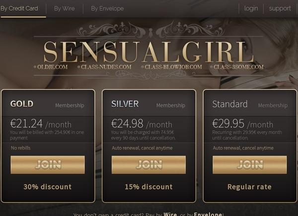 Sensualgirl Account Premium Free