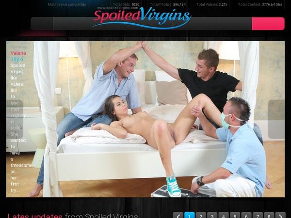 Spoiled Virgins 帐号