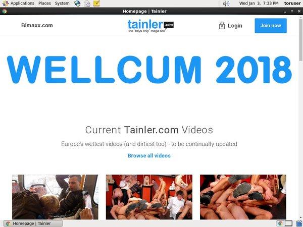 Tainster.com New Password