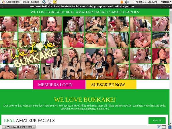 Welovebukkake.com Free Ones