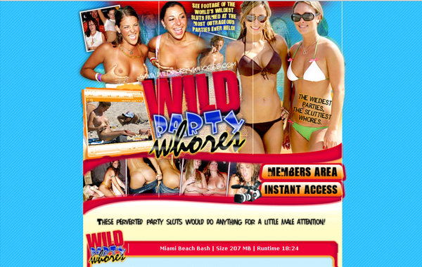 Wildpartywhores Hacked Password