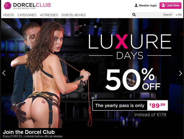 Free Working Dorcelclub Account