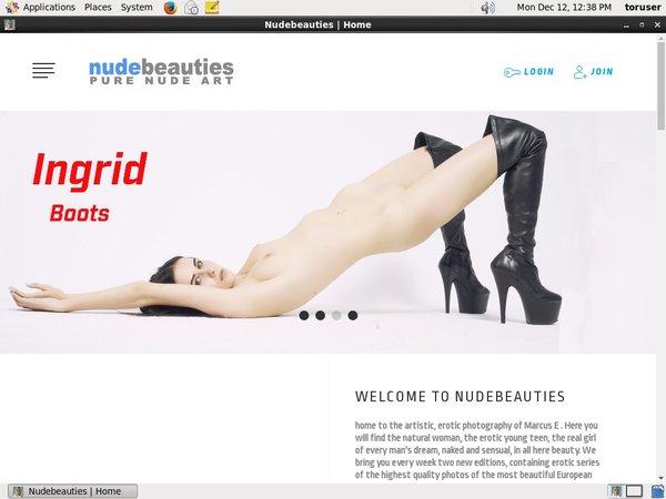 Free Logins For NudeBeauties
