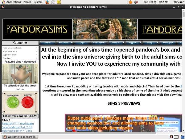 Pandorasims.net Paysite Passwords