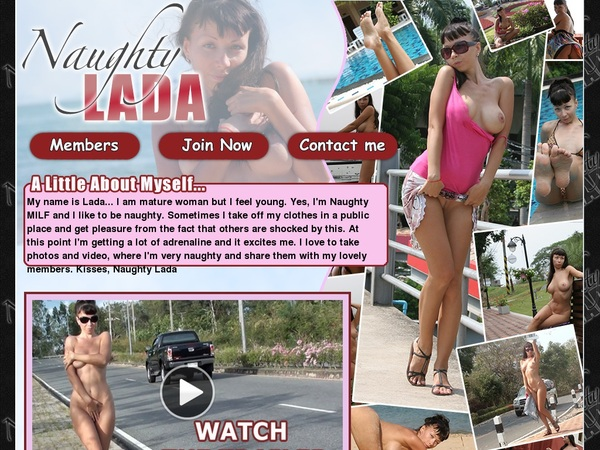 New Naughty Lada