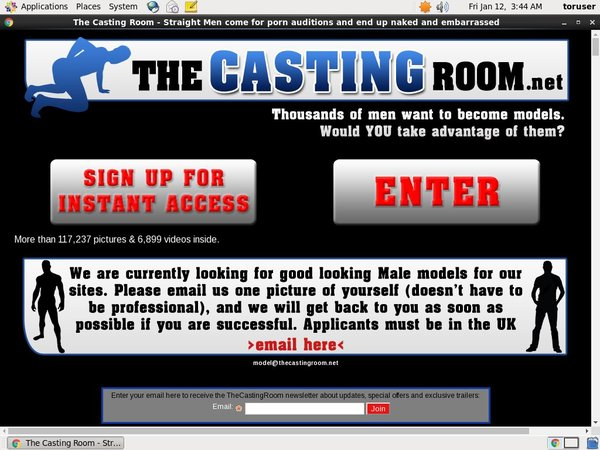 The Casting Room Free Account And Password