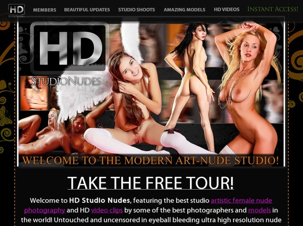 Free Account On HD Studio Nudes