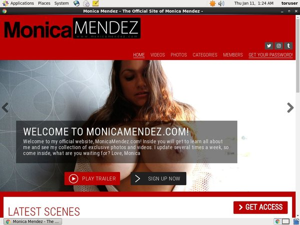New Monicamendez.com