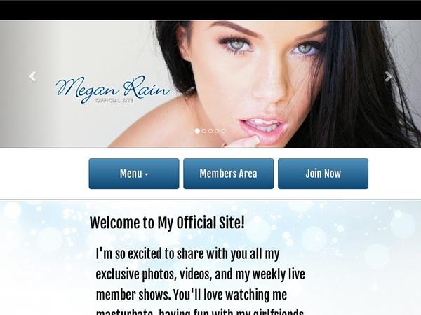 Megan Rain Paypal Access