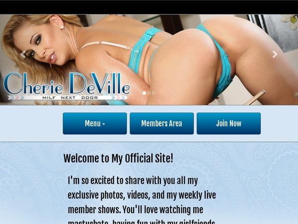 Cherie DeVille Mobile Passwords