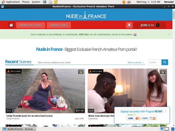 Nudeinfrance.comaccounts
