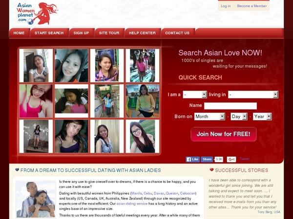 Real Asianwomenplanet.com Accounts