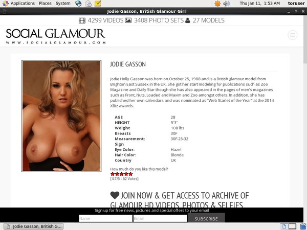 Jodie Gasson Daily Passwords