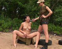 Lesbianarmy.com female army
