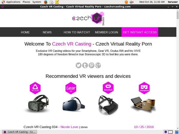 Czechvrcasting.com Account Share