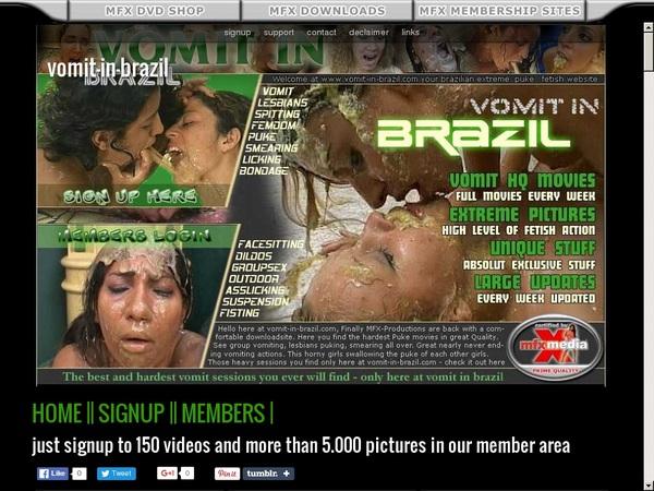 Vomit In Brazil Full Videos